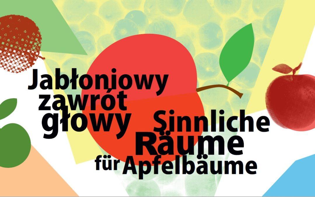 """""""Sinnenräume für Apfelbäume"""" im Muskauer Park"""