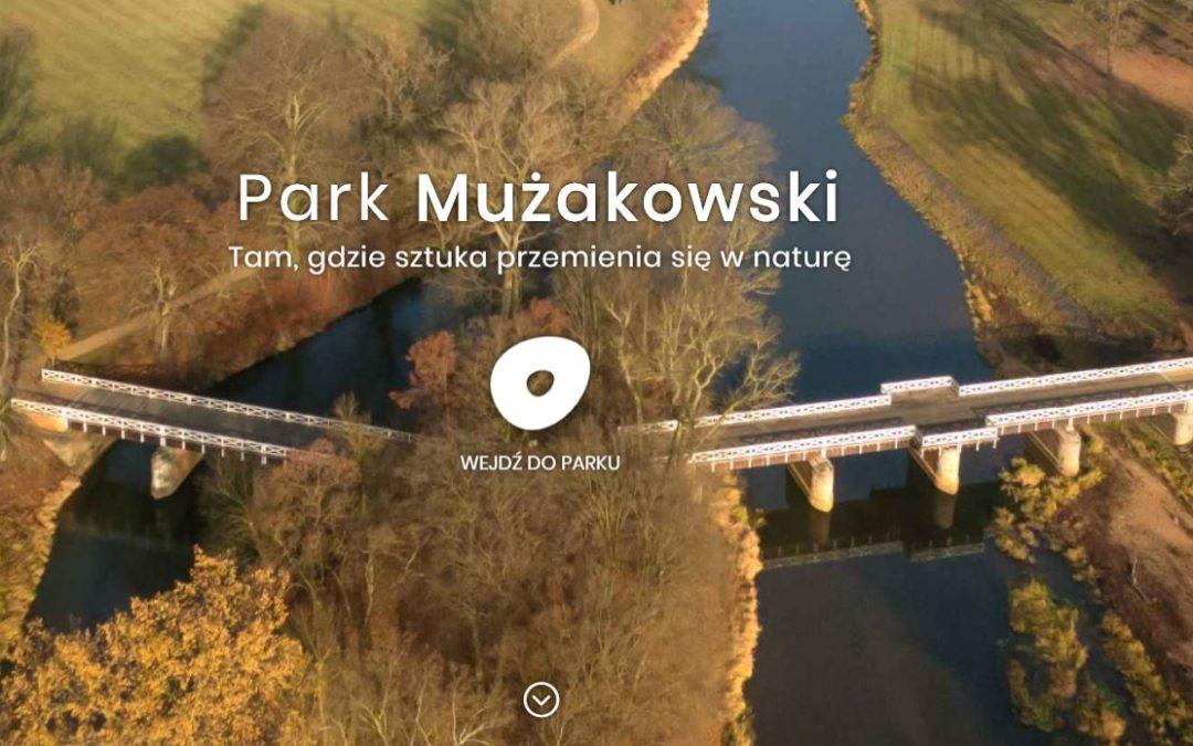 Nowa strona internetowa Parku Mużakowskiego